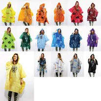 Promotional Disposable Rain Ponchos from 100 ponchos