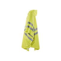 Adult High Visibility Rain Poncho with Hood